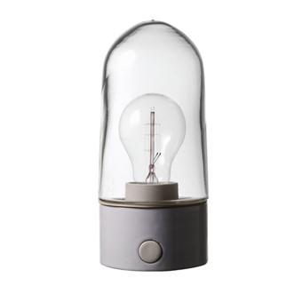 Porslinslampa utomhus, rak