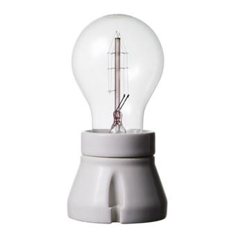 Lamphållare, porslin