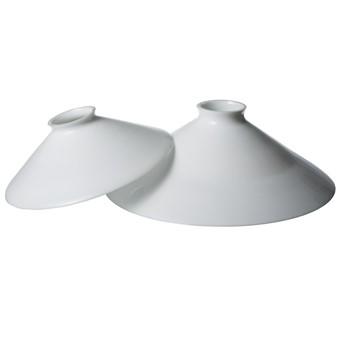 Lampskärm opalglas, 20 cm, Vit