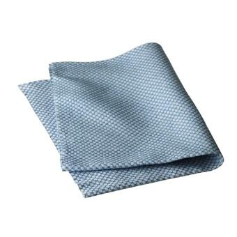Handduk, blå