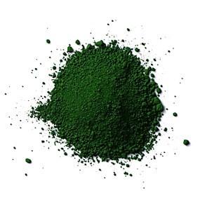 Torrpigment Kromoxidgrön, 1 Kg