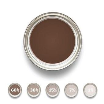 Linoljefärg Järnoxidbrun