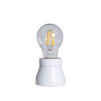 LED-lampa Klar E27 Soft Glow 2,3W